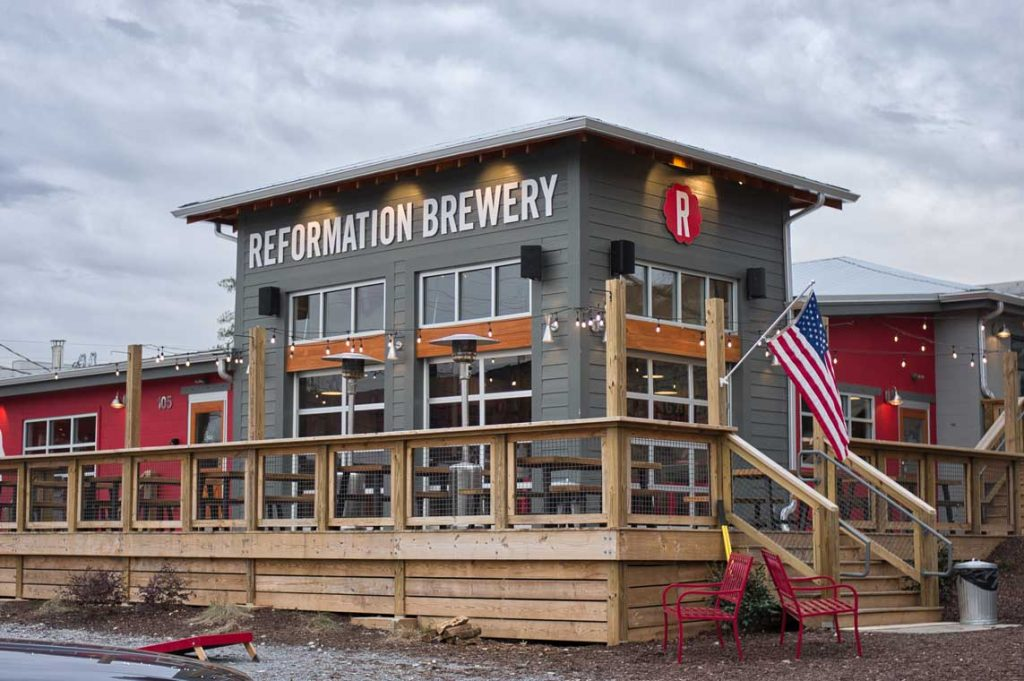 Reformation Brewery's New Downtown Woodstock Brewhouse Is Located At 105 Elm Street